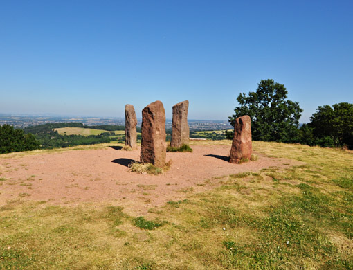 The Four Stones at Clent