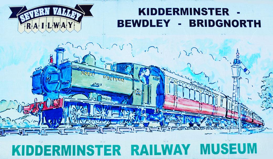 Kidderminster Railway Museum Sign